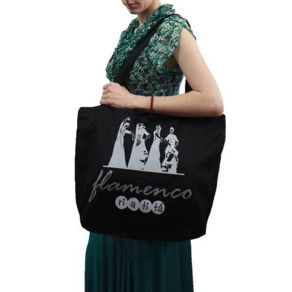 Bolsa com estampa bailaoras flamencas