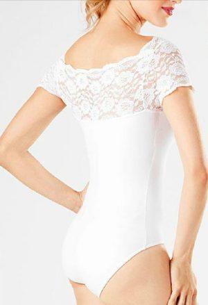 Collant Flamenco Renda Branco