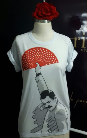 Camiseta flamenco es para todes freddy mercury
