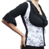 Colete cigano branco 3D