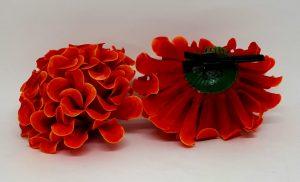 Flor flamenca sevilla com passador
